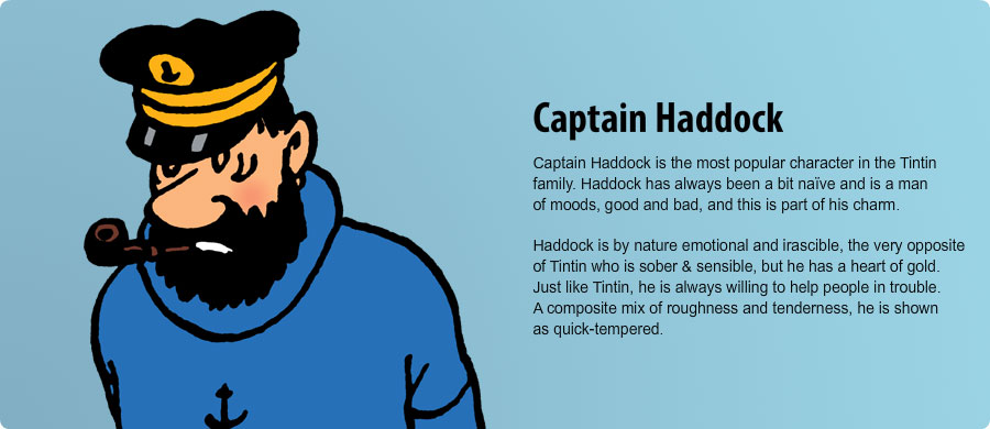 Captain Haddock Tintin Characters Related Keywords