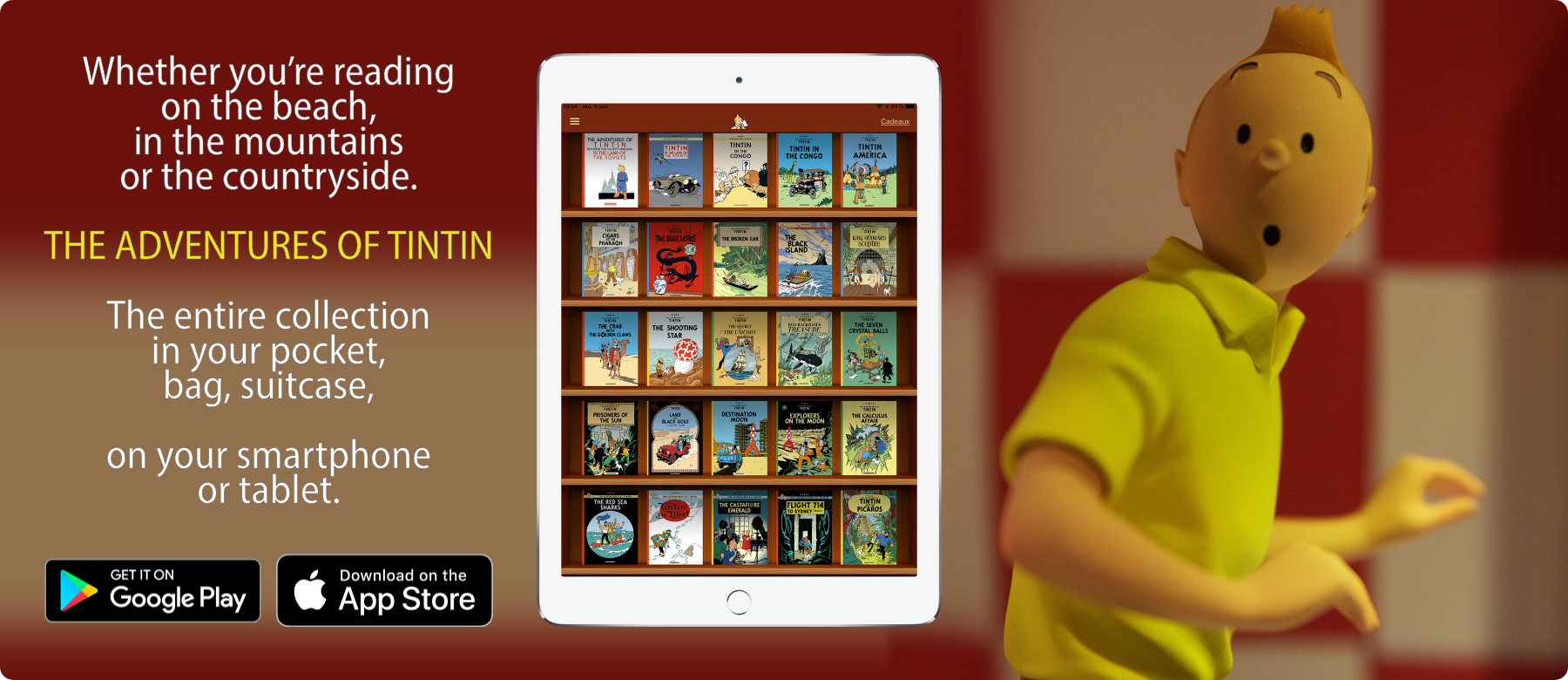 Tintin - Official web site