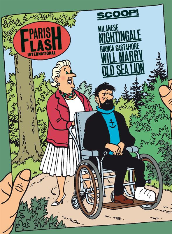 Les Aventures de Tintin - Captain Haddock